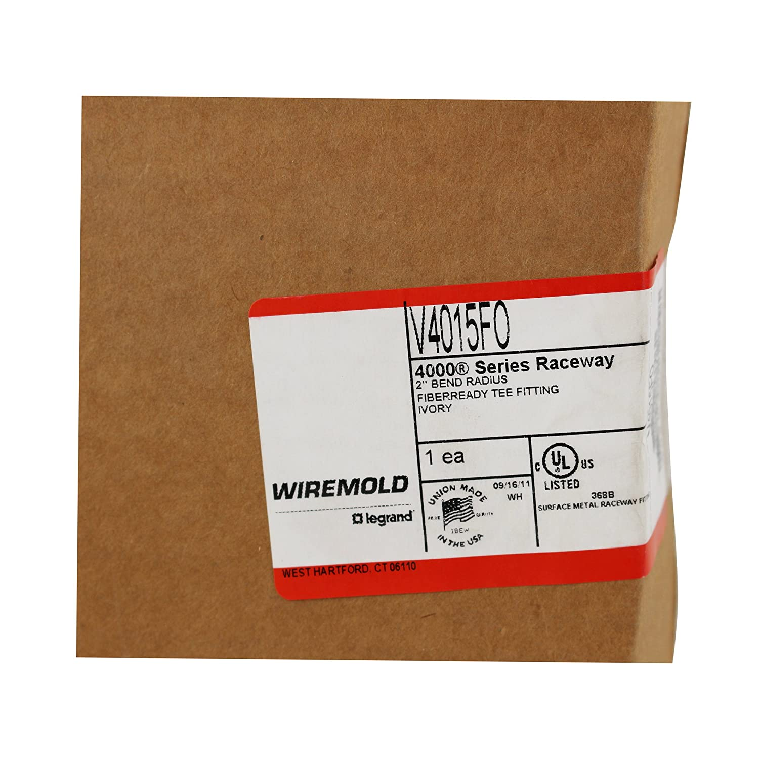 Amazon.com: Wiremold Legrand V4015FO 4000 Series Raceway 2\