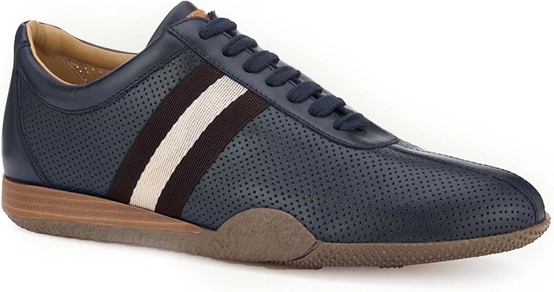 BALLY Man's Frenz Blue Sneaker