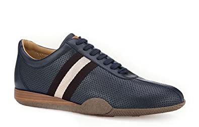 54e2fc24b Image Unavailable. Image not available for. Color: BALLY Man's Frenz Blue  Sneaker ...