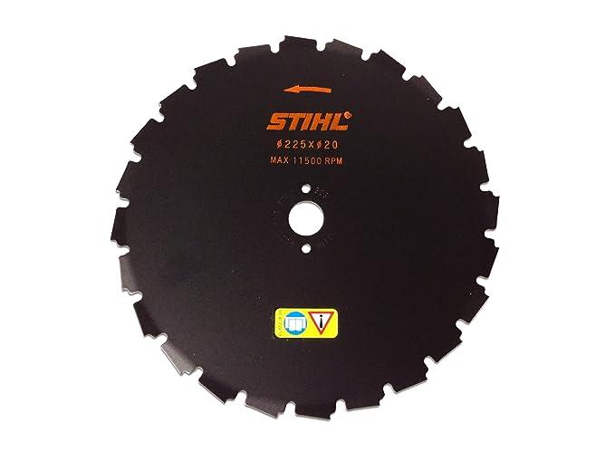 Stihl-desbrozadora sierra cincel diente 225 mm: Amazon.es ...