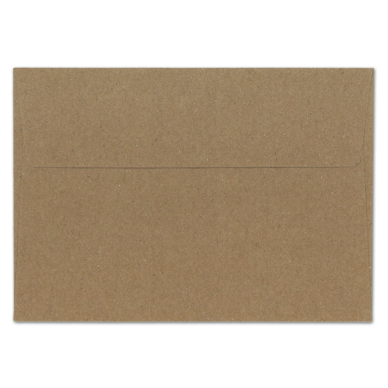 200 Stück Stück Stück I Vintage-Umschläge DIN C6 Kraftpapier 100 g m² braun Recycling Brief-Umschläge Haftklebung I UmWelt by GUSTAV NEUSER® B00XLKHI0G | Elegante Form  a6b4d8