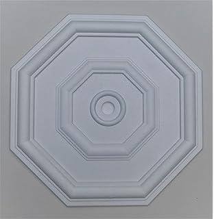 Ceiling Rose Polystyrene Lightweight Country Splendour