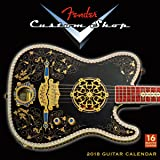 Fender Custom Shop Guitars 2018 Wall Calendar (CA0133)