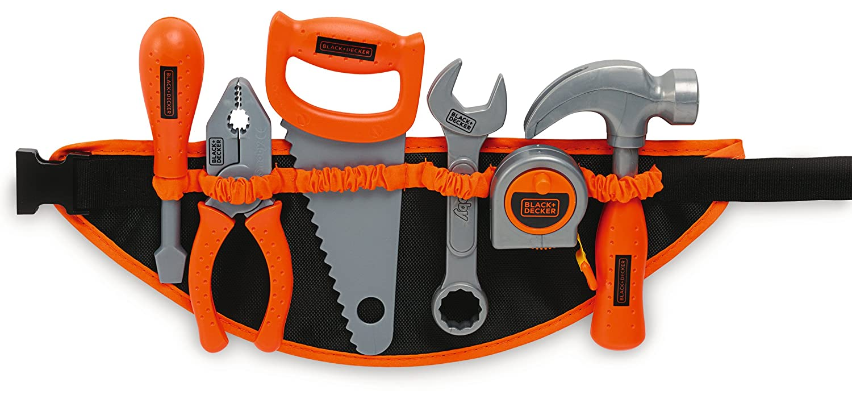 Kinder Werkzeuggürtel - Smoby Black + Decker Werkzeuggürtel