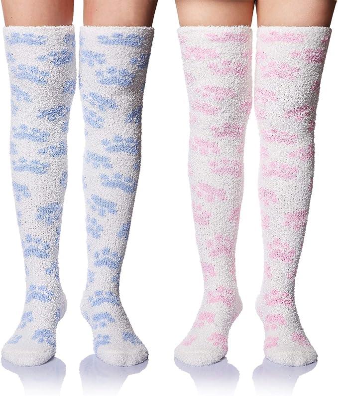 Winter Over Knee Warm Slim Tights Stockings Socks For Women Girl