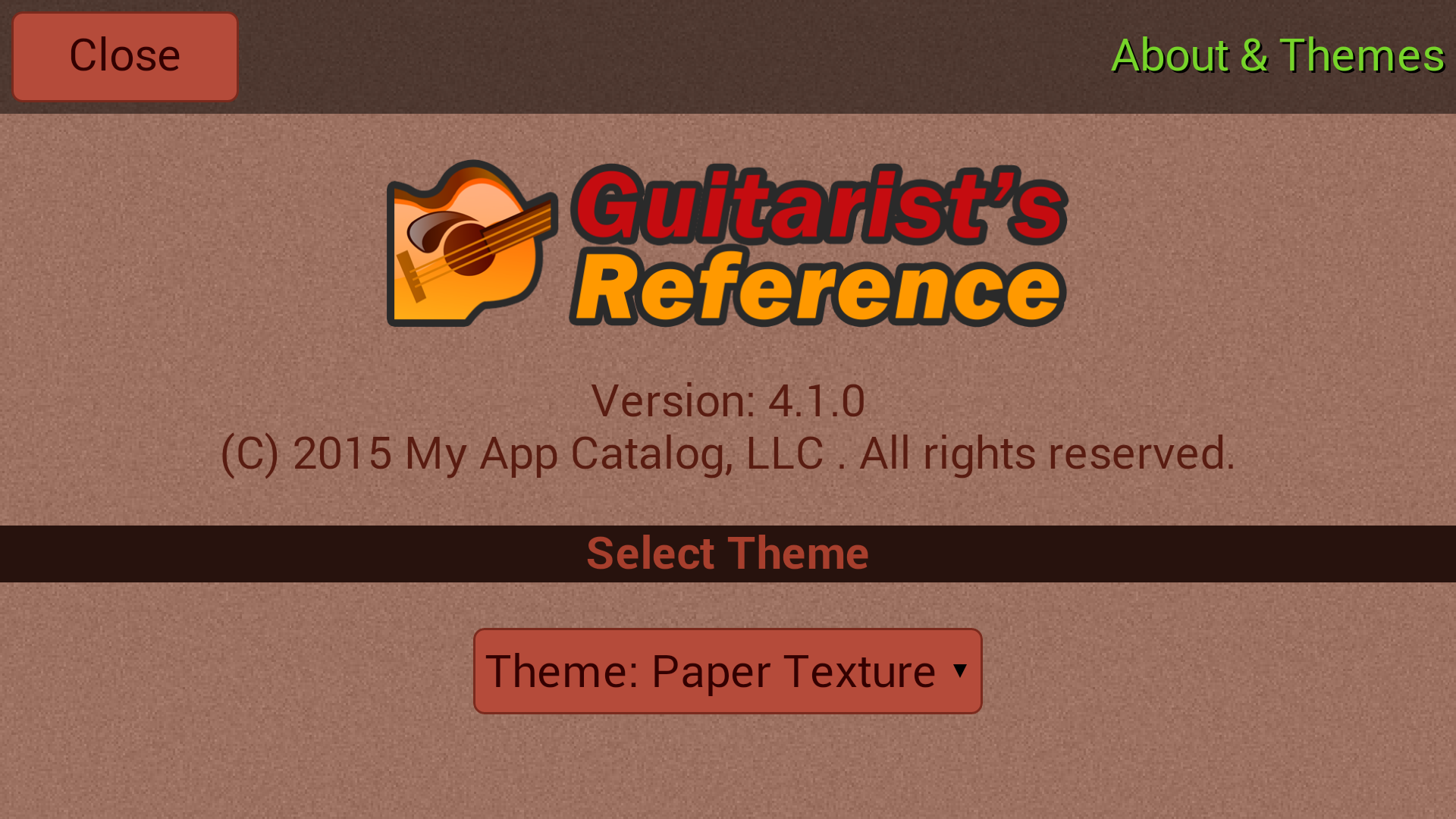 Amazon Guitarists Reference Appstore For Android