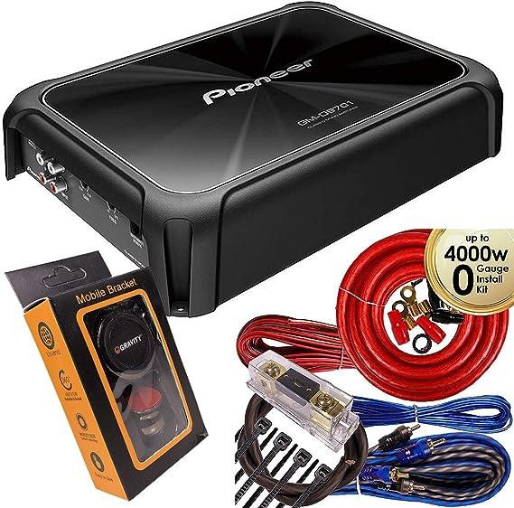 2400 vatios Max Pioneer gm-d9701-1-canal monoblock auto amplificador//amp