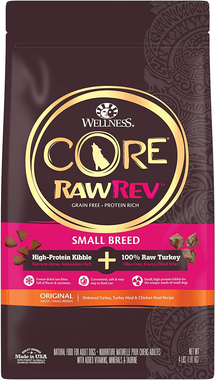 5. Wellness CORE RawRev Grain-Free Small Breed