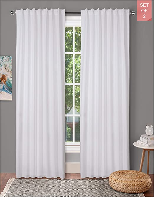 Amazon.com: Farm House Curtain-Cotton Textured Slub fabric 50x72