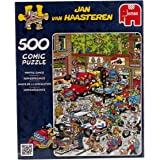 Jan van Haasteren -  500-Piece Scooter Scramble Jigsaw Puzzle