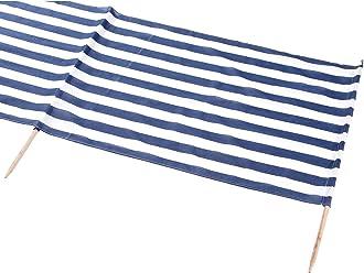 Idena Baumwoll Windschutz incl. 5 Holzstäbe, 5 m x 0,80 m (Ohne Hammer) farblich sortiert keine Auswahl möglich