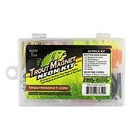 Leland Lures 87659 Neon TM 85pc Kit