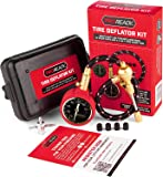 PROREADY Tire Deflator, 4x4 Brass Gauge, Analog, 0-75 PSI - Accurate, Heavy-Duty Air Pressure Gauge with Plastic Case…