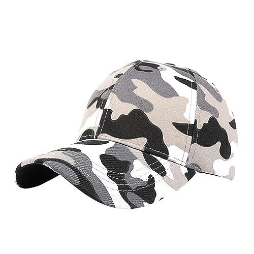 INTERNET El camuflaje al aire libre ocasional de los hombres de las mujeres se divierte la gorra de ...