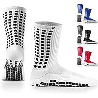 LUX - Calcetines de fútbol, antideslizantes, calcetines antideslizantes de mayor agarre, para deportes como fútbol…