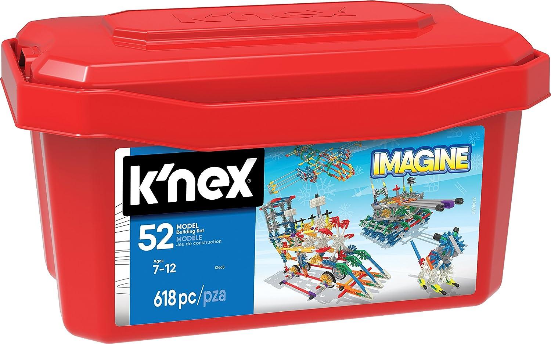 Knex - Juego de construcción para niños de 618 piezas (13466) K'NEX 13465