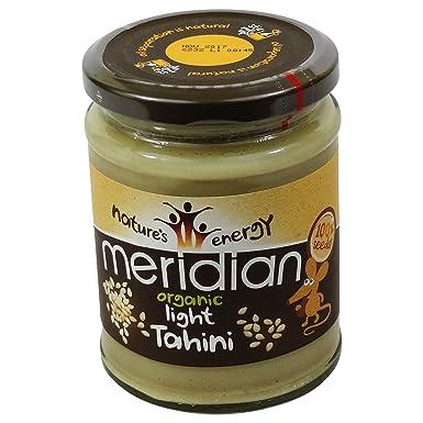 MERIDIAN - Salsa de Sésamo Tahini 100% - Sin Aceite de Palma - Sin Gluten