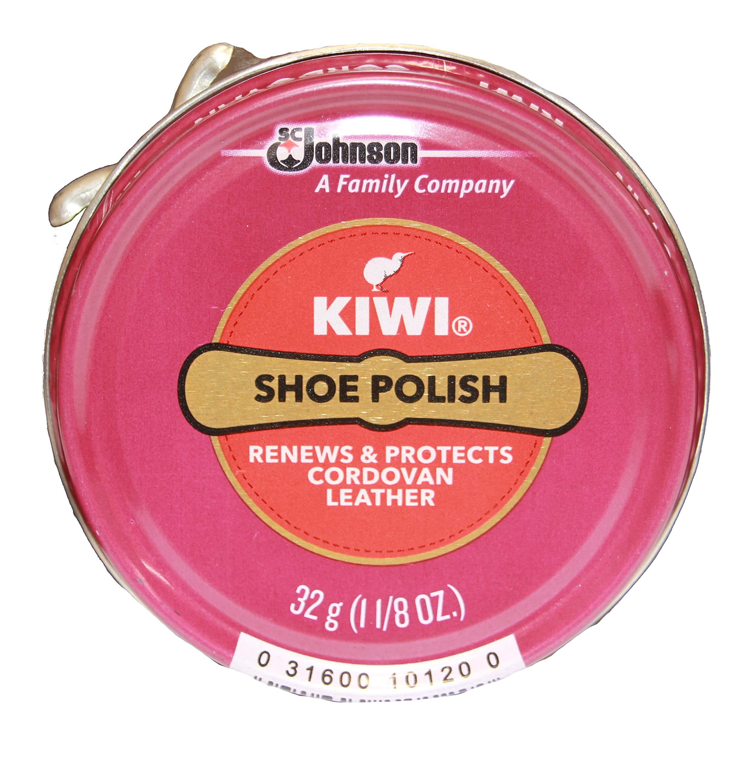 Kiwi Cordovan Shoe Polish, 1-1/8 oz