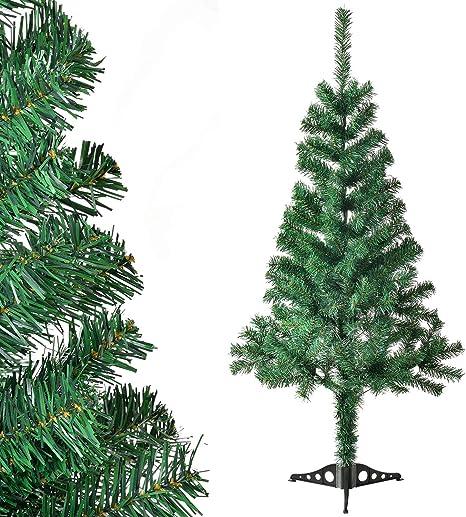 120cm Grun Künstlicher Christbaum Tannenbaum Weihnachtsbaum Kunstbaum mit Schnee