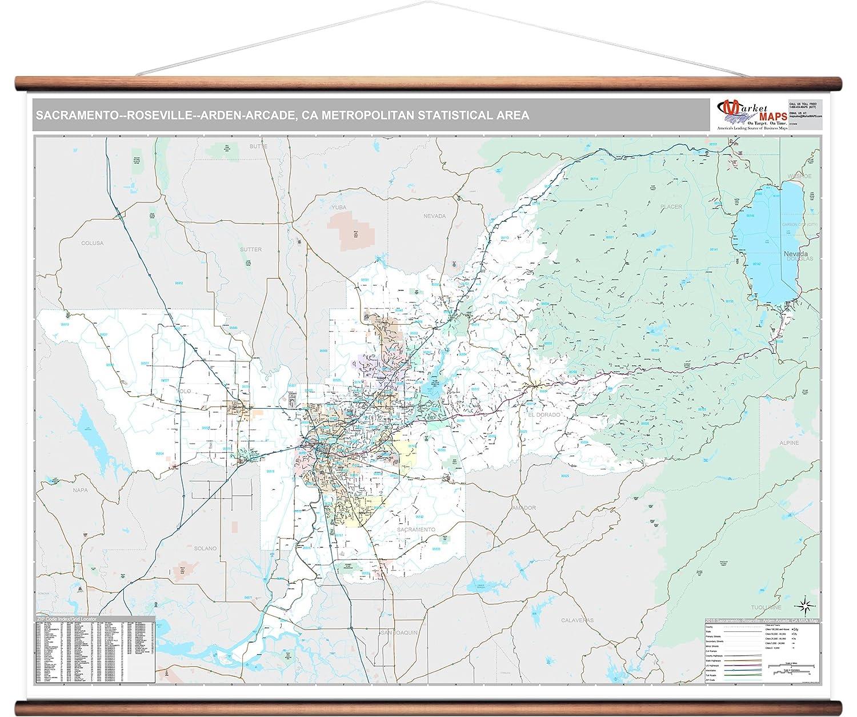 Amazon Com Marketmaps Sacramento Roseville Arden Arcade Ca Metro