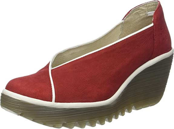 TALLA 37 EU. Fly London Yuca839fly, Zapatos de tacón con Punta Cerrada para Mujer