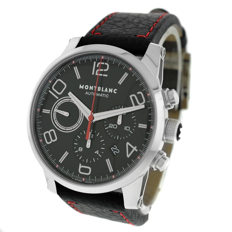 c1eb64e2946 Amazon.com: Montblanc Timewalker 109345 Chrono Automatic Watch: Montblanc:  Watches
