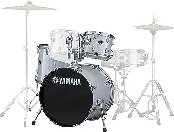 "Yamaha GM2F51SLG - Set de herrajes para batería GigMaker 22"", color plateado"
