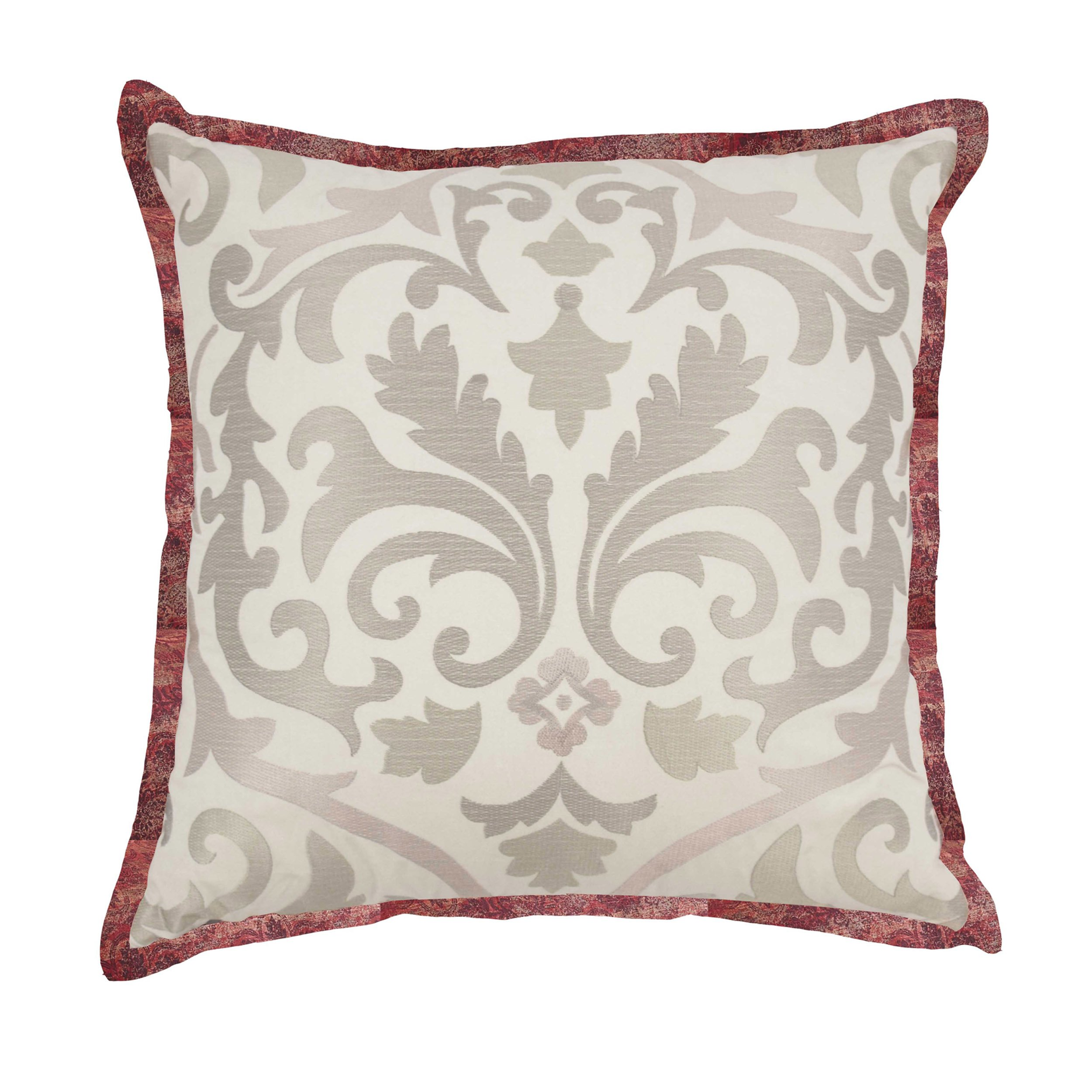 WAVERLY Fresco Flourish Decorative Pillow, 18x18, Jewel