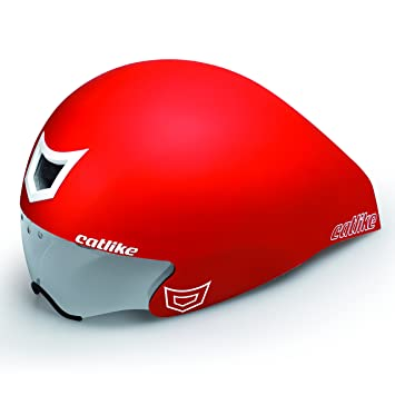 Catlike Chrono WT - Casco de ciclismo, color rojo mate, talla SM (54