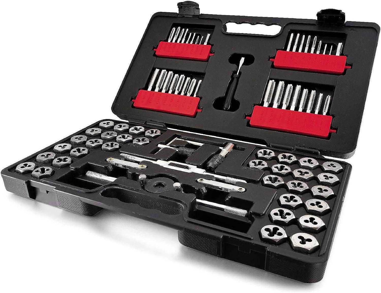 Craftsman 75-piece Combination Tap & Die Carbon Steel Set