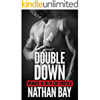Double Down: An MMM Menage Romance (Gay Erotica Book 5) book cover