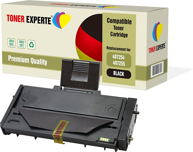 Pack de 2 TONER EXPERTE® Compatibles 407254 407255 Cartuchos de ...