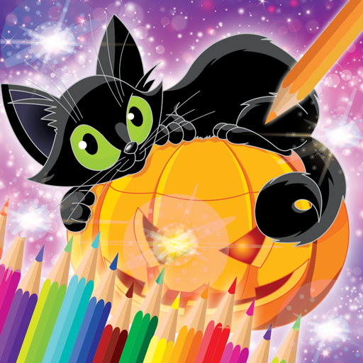 Halloween Coloring Book ()