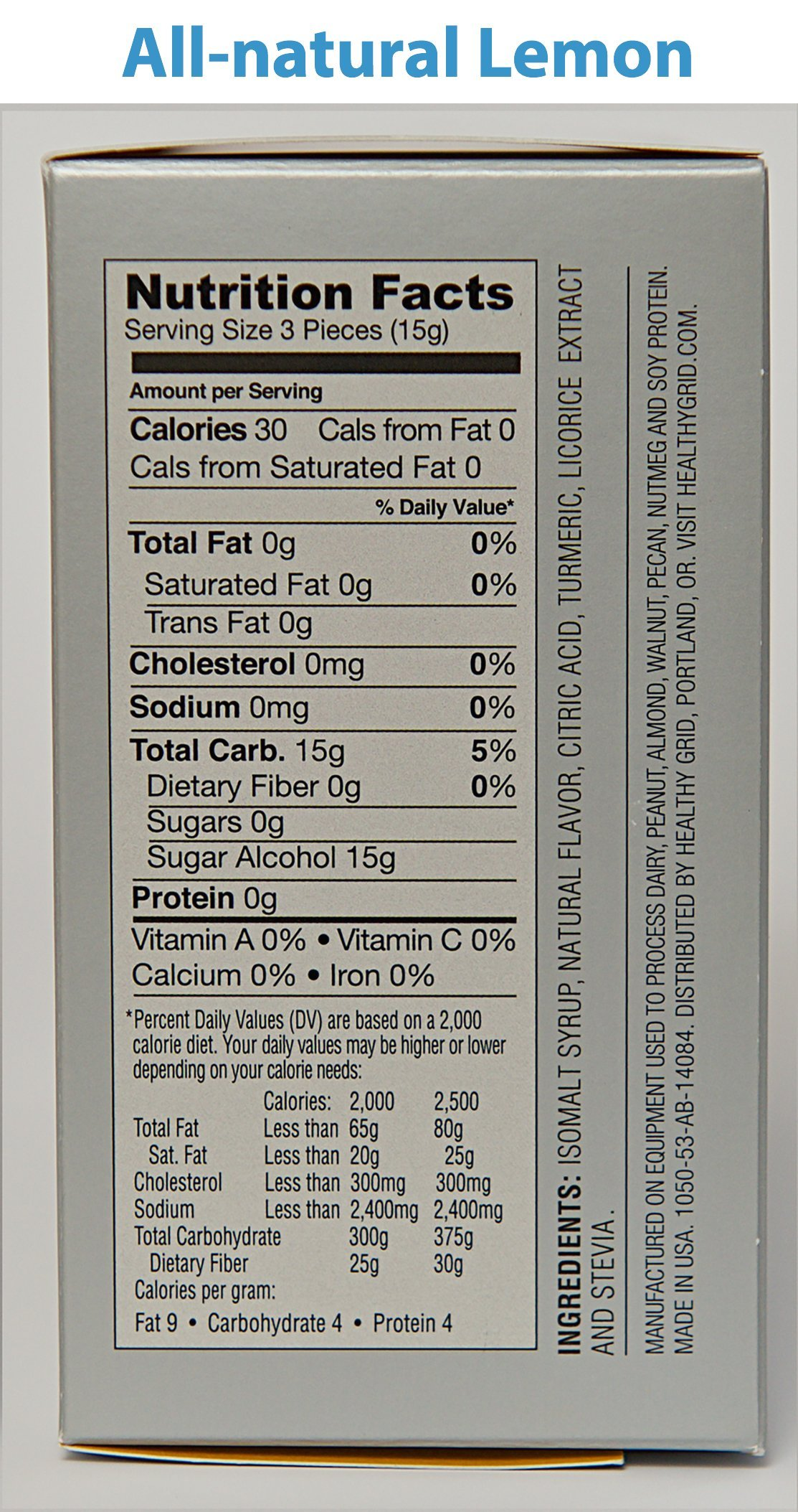 Loloz - Anti Cavity Lemon Lozenges - 3 To 6 Months of Protection (20 pieces)