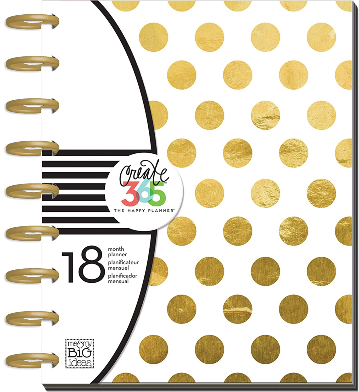 Me and My Big Ideas Create 365 18-Month Planner 7.75-inch x 9.75-inch-Botanical Garden Me & My Big Ideas 290480