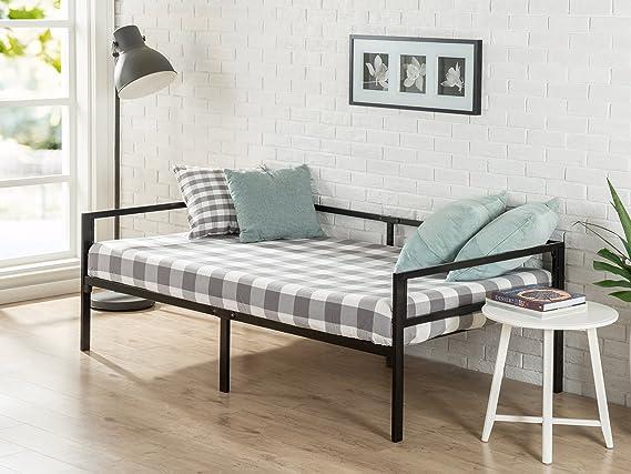 Amazon.com: Zinus Quick Lock cama de día doble con ...