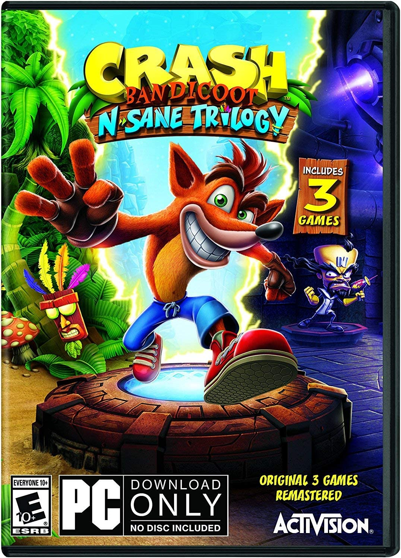 Amazon com: Crash Bandicoot N  Sane Trilogy - PC Standard