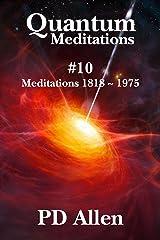 Quantum Meditations #10 Kindle Edition