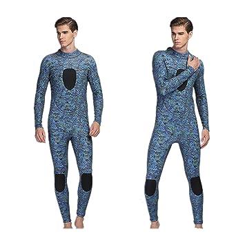 Amazon.com: Trajes de neopreno camuflaje Mens 3 mm con SUPER ...