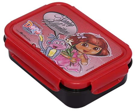 Nickelodeon DORA DORA Art PLASTIC Pencil Box Set of 1 Violet