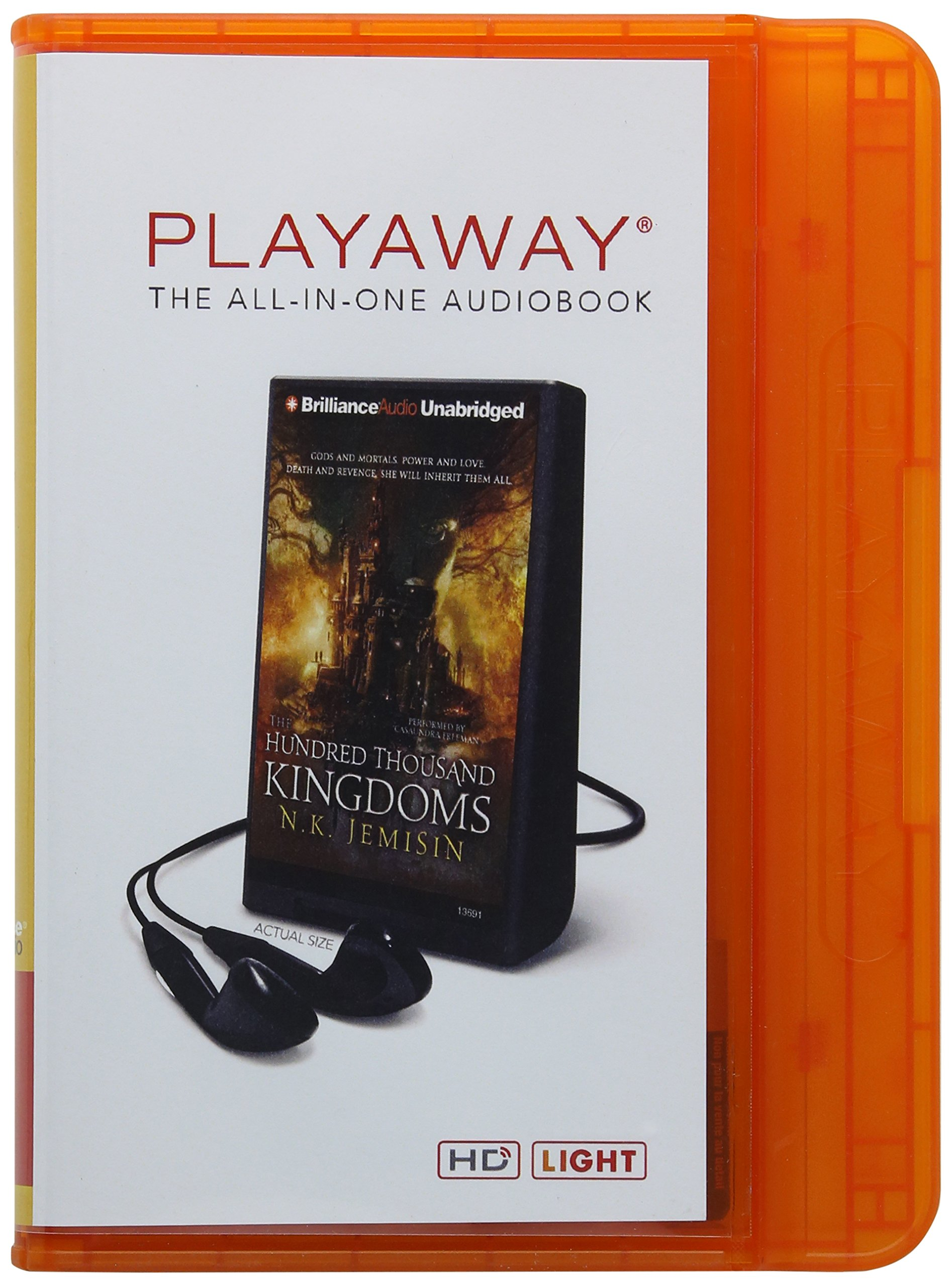 The Hundred Thousand Kingdoms Playaway Adult Fiction: Amazon ...