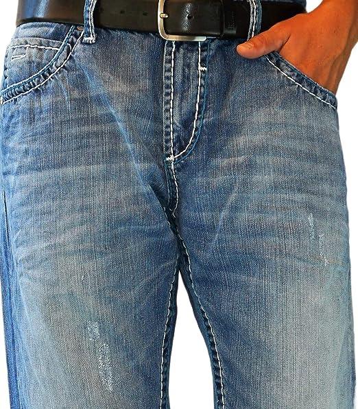 Camp David Herren Jeans NICO Stone R611 REGLAR FIT Bootcut Low Waist Used Denim 1398 CD CDU 9999 1446 W31 32 33 34 36 38 40