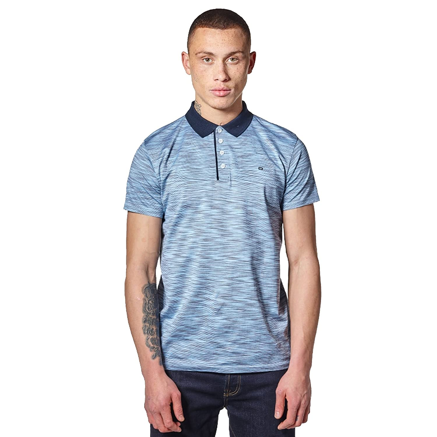 Weekend Offender Wharton 1802 - Polo de Manga Corta, Color Azul ...