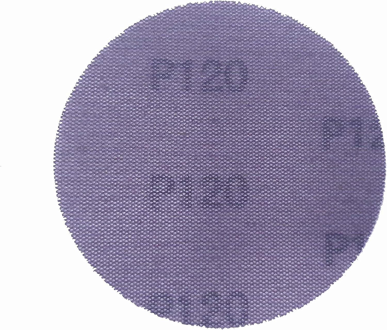 IHS/® KLETT Gitterleinen Schleifscheiben Schleifgitter 150 mm Durchmesser 9-teiliges Set GROB MITTEL FEIN je 3 St/ück 3x K80 3x K100 3x K240