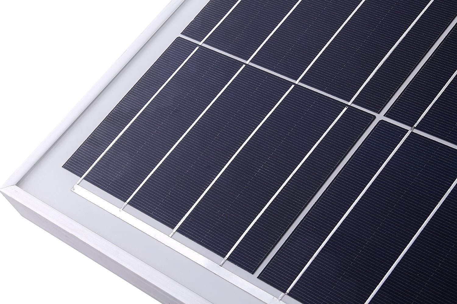 LCS 100 Watt 12 Volt Polycrystalline Solar Panel 100W 12 Volts Battery Charging