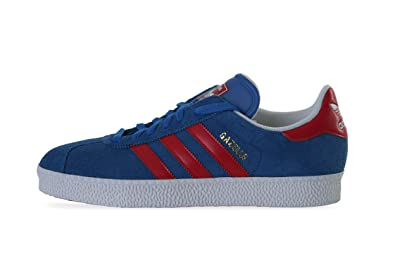 Adidas Gazelle II D65440 Blue   Red Trainers for Men  Amazon.co.uk ... 78634dede56c