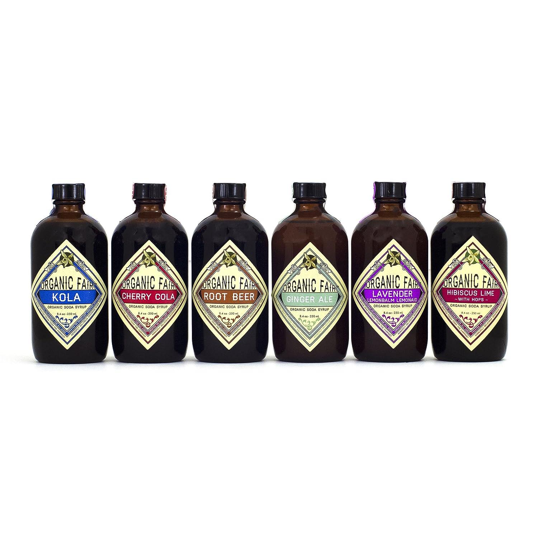 Organic Fair Soda Syrup Set
