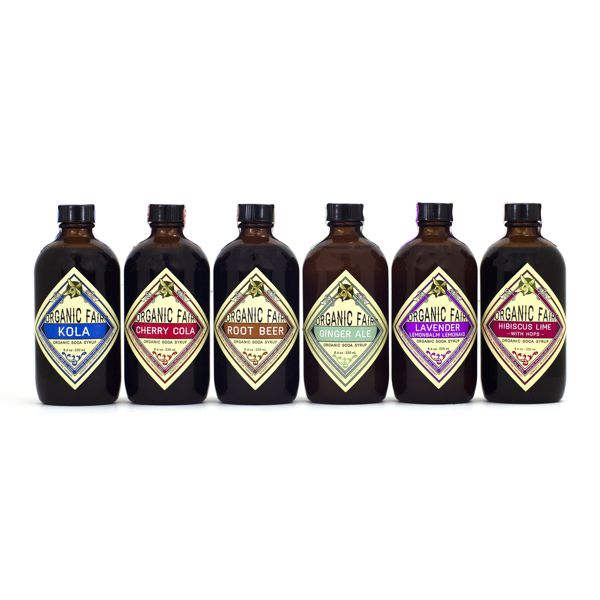 Organic Fair Soda Syrup Set by Organic Fair
