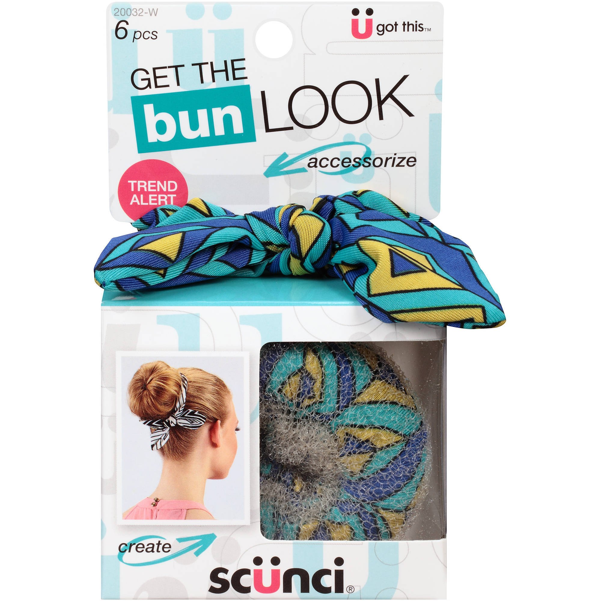 Scunci Get the Look Bun Maker 6 Piece Kit (2 Packs) by Scunci (Image #1)