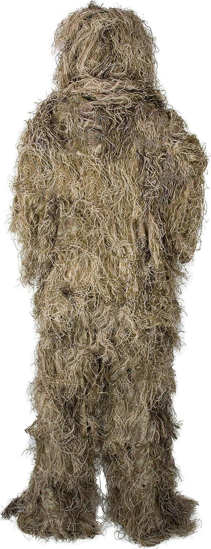 Gewehr- und Kopfbedeckung inkl Tragetasche bestehend aus Jacke normani Tarnanzug Ghillie Suit Hose